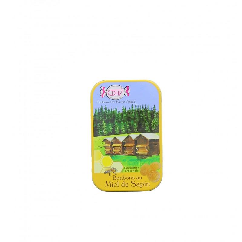 Boîte métal de poche bonbons Confiserie des Hautes-Vosges - 70g