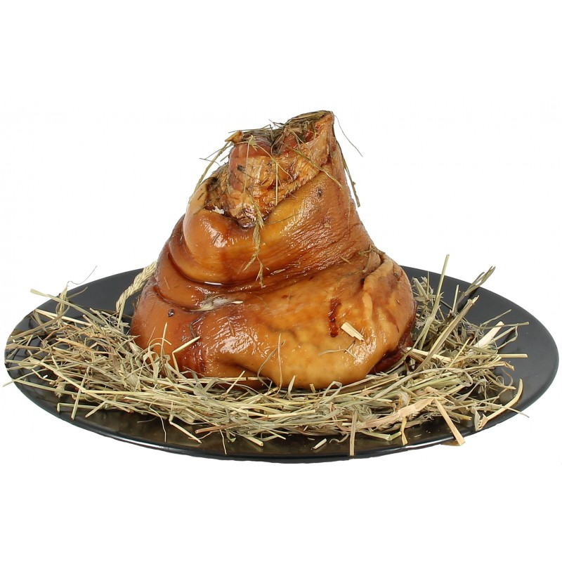 Jambonneau arrière fumé cuit au foin - 1.4kg