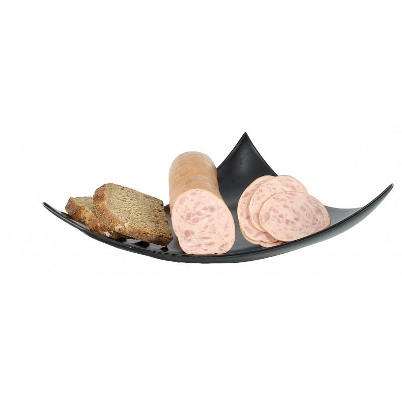 Saucisson cuit à l'ail fumé boyau naturel